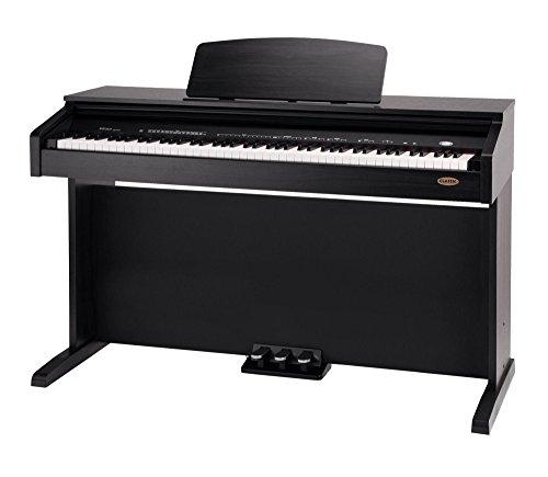 Classic-Cantabile-DP-210-RH-E-Piano-Digitalpiano-mit-Hammermechanik-88-Tasten-2-Anschlsse-fr-Kopfhrer-USB-Metronom-3-Pedale-Piano-fr-Anfnger-Rosenholz