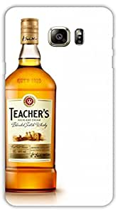 Crazy Beta TEACHERS WHISKYBOTTLEPrinted Back Cover For Samsung Galaxy Note 6