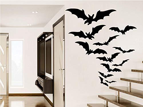 d Applique Halloween Gruppe Zimmer Aufkleber Urlaub Halloween Party Moderne Möbel 57 * 63 Cm ()