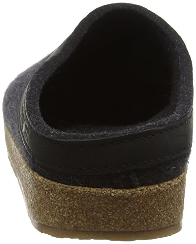 HaflingerTorben - Pantofole Donna Grigio (Grau/graphit)