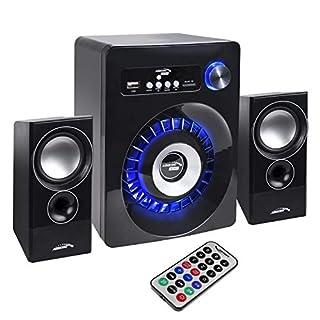 Audiocore AC910 2.1 Bluetooth Multimedia Speaker System Speaker Subwoofer 280W PMPO Radio SD Card Slot AUX FM USB 5V LED
