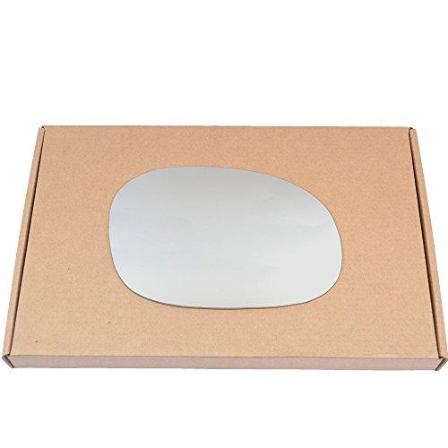 Côté Droit conducteur aile en argent miroir en verre