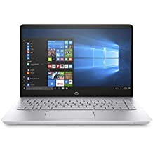 HP 14 Inch Full HD (1920 X 1080) IPS Display Laptop, Intel Core I3-7100U, 8GB DDR4, 1TB Hard Drive, HDMI, 802.11ac, Bluetooth, Backlite Keyboard, Windows 10 - Silver