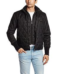Pepe Jeans Mens Jacket (8903872646524_TEAL LS_Large_Black)