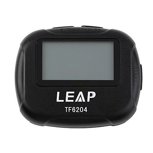 RoadRoma Training Electronics Interval Timer Sports Boxing Segment Stopwatch Black