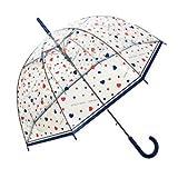 SMATI Paraguas largo transparente forma de campana