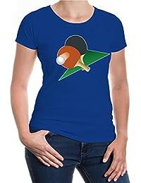 buXsbaum® Girlie T-Shirt Table Tennis Racket