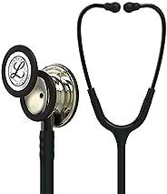 3M Littmann Classic III Monitoring Stethoscope, Champagne - Finish Chestpiece, Black Tube, Smoke Stem and Head