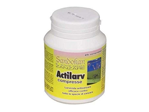 Sandokan Larvicide anti-moustique 25 Compresse