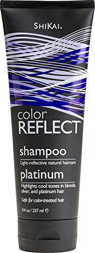 Shikai Color Reflect Platinum Shampoo, 8 Ounce Tube by ShiKai (English Manual)