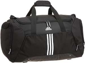adidas sporttasche essentials 3 stripes teambag black white 76 liter v86893 sport. Black Bedroom Furniture Sets. Home Design Ideas