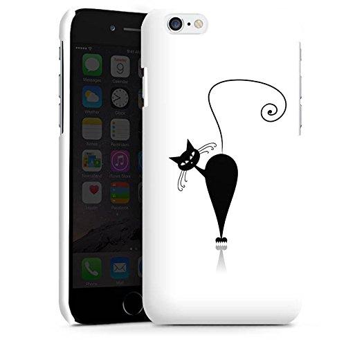 Apple iPhone 5s Housse Étui Protection Coque Chat Chat Chaton Cas Premium brillant