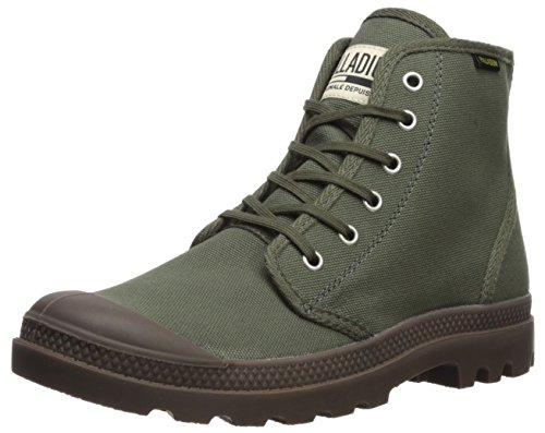Palladium Pampa Hi Orginale Ankle Boot, Green-326, 13 Medium US -