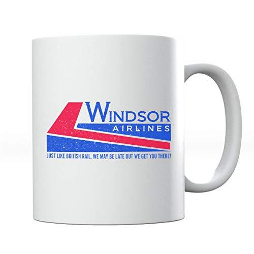 Die Hard Windsor Airlines Mug