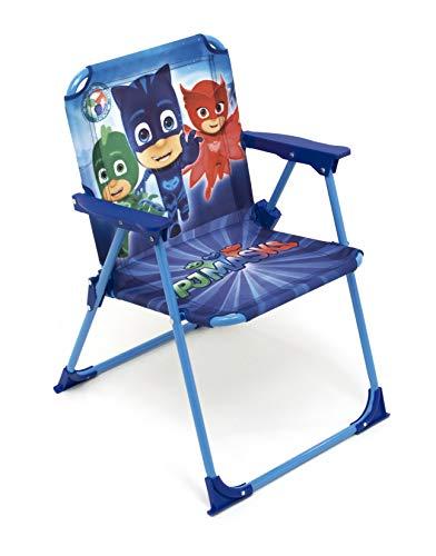 Arditex Silla Plegable para niños bajo Licencia Les pyjamasques en Metal, Tela, 38x 32x 53cm