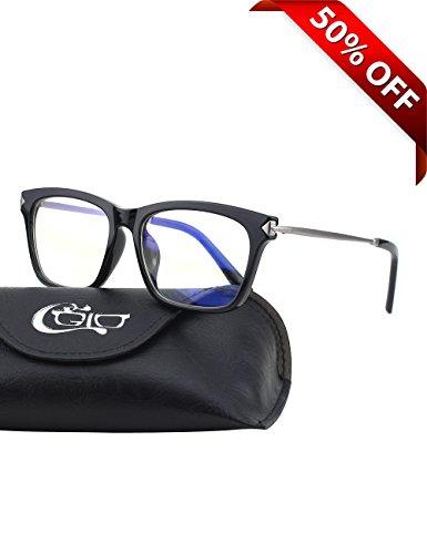 CGID-CT34-Gafas-Premium-con-Armazn-TR90-para-Proteccin-Contra-Luz-Azul-Anti-Fatiga-por-Deslumbramiento-Previene-Dolores-de-Cabeza-o-Fatiga-Visual-Gafas-Seguros-para-ComputadorasCelularesTabletas-Armaz