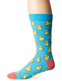 K. Bell Socks Men's Rubber Ducks Crew
