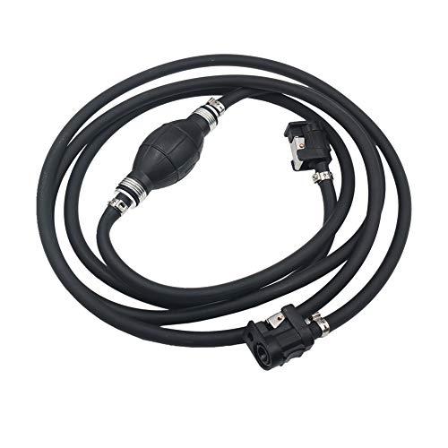 Kraftstoffleitung Schlauchleitung Satz, Benzinschlauch Benzinleitung Gasölschlauch Tankanschlusssatz für JOHNSON-Außenborder, für/Yamaha/für Mariner -