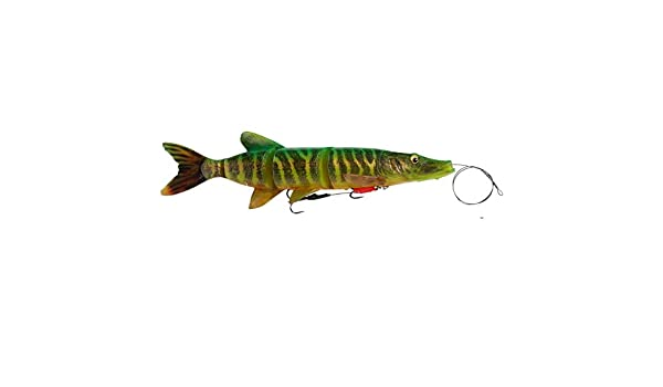 3 COLORS! Pre rigged Savage Gear 4D Line Thru Perch NEW 2018 23cm 145g
