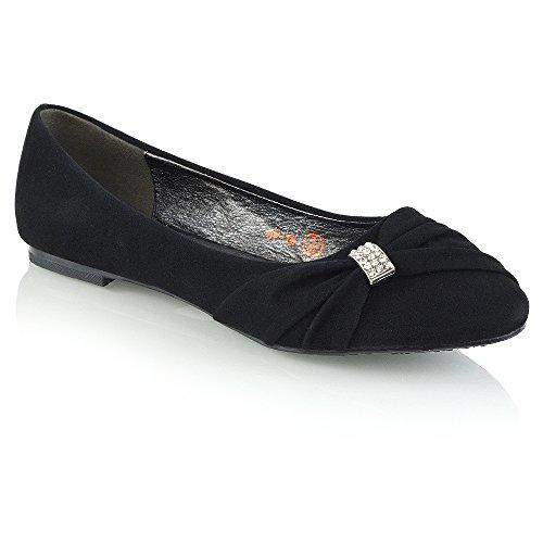 028f5f7f41e9 Womens Bridal Wedding Satin Pumps Ladies Slip On Prom Bridesmaid Pumps  Shoes Size 3 4 5 6 7 8 9 (UK 6   EU 39   US 8