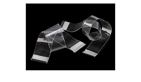 Rücken Trägerband transparent 30cm für BH oder Bikini