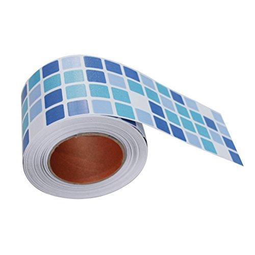 BESTONZON Mosaico adhesivo mosaico impermeable cáscara