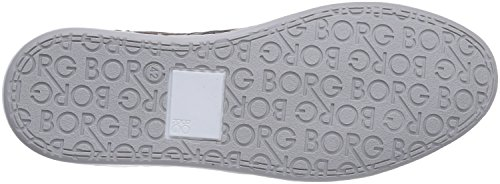 Björn Borg Footwear Geoff Perf, Chaussons Sneaker Homme Noir (0920 Black-Brown)