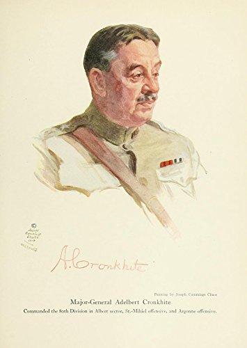 J. Cummings Chase – Harper's Pictorial World War 1920 Adelbert Cronkhite Kunstdruck (45,72 x 60,96 cm)