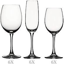 Spiegelau 4070098 - Juego de cristalería, color transparente