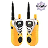 DUL DUL ® TamBoora ™ WALKIE Talkie MILTRY Yellow Set for Kids to