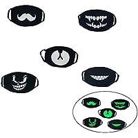 WINOMO 5pcs Maske Mund Helle Baumwolle Anti Staub Gesicht Maske Mund Maske waschbar Kpop preisvergleich bei billige-tabletten.eu
