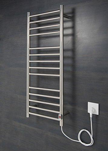 Wärmehaus Elektrischer Handtuchheizkörper, Badheizkörper 1000x400 Chrom