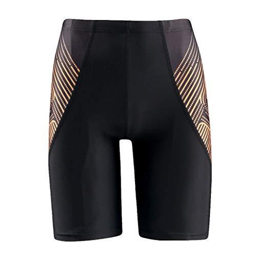 UFACE Herren Badehose Lang Jock Herren Shorts Sport Weiss Herren Trainingshose Slim Fit Herren Badeshorts Kurz Diesel