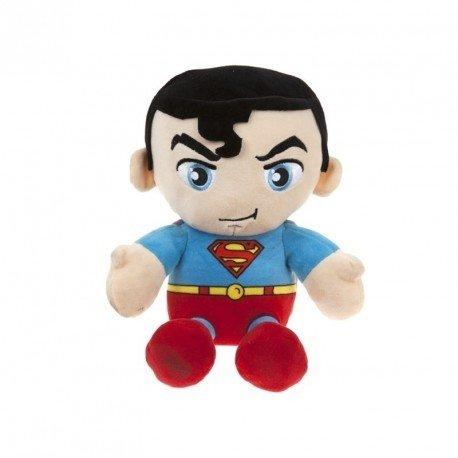 "DC COMICS ORIGINALS SUPERMAN SOFT PLUSH 10"" SITTING BEANIE OFFICIAL GIFT TOY"