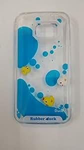 QAWACHH Brand Liquid Gel Case Cover For Samsung Galaxy S6 Edge