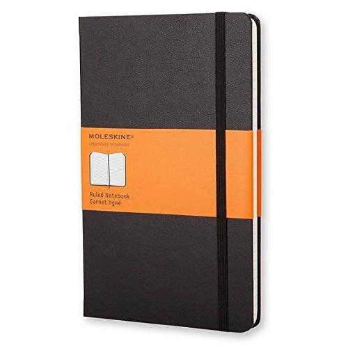 Moleskine Klassisches Notizbuch Large, Hardcover, liniert, schwarz