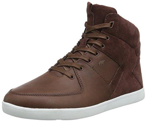 Boxfresh - Camberwell Icn Lea/Sde, Scarpe da ginnastica Uomo Marrone (marrone (Chestnut))