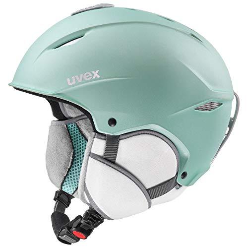 uvex Unisex-Erwachsene Primo Skihelm, Mint, 52-55 cm