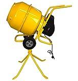 Charles Bentley - Sand-/Betonmischer für Heimwerker - robust & mobil - 230V 550W - 140 l