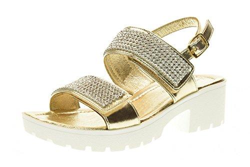 LELLI KELLY scarpe bambina sandali LK4482 SPLENDID PLATINO ...