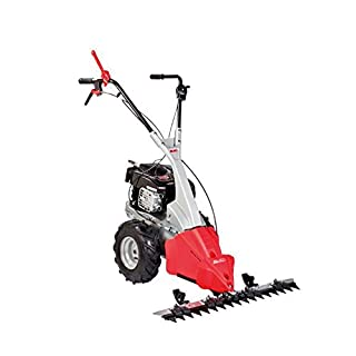AL-KO BM 875 III Beam Mower (87 cm Cutting Width, 2.3 kW Engine Power, Specially Hardened Blade with Continuous Cutting Height, Vibration-damped and Height-Adjustable Guide Handle)