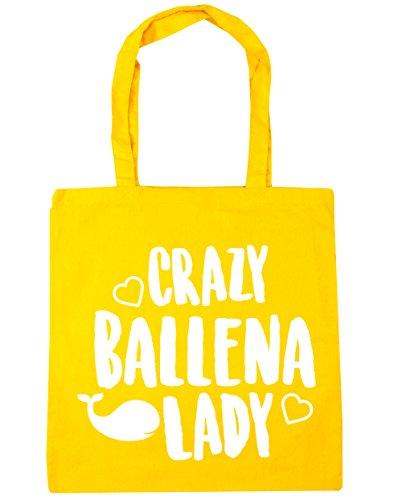 HippoWarehouse Crazy Ballena Lady Bolso Playa Bolsa