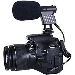 Movo VXR1000Mini HD Escopeta micrófono de Condensador para cámaras réflex Digitales cámaras de vídeo