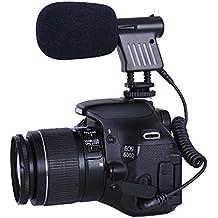 Movo VXR1000 Mini Micrófono Cañón Condensador HD para DSLR Cámaras de vídeo