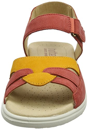 Hotter Damen Dazzle Riemchensandalen Orange (Spice Multi)