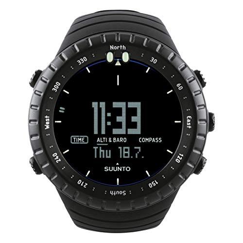 Suunto Core All Black, Unisex Compass - Erwachsene, Tiefschwarz, Einheitsgröße