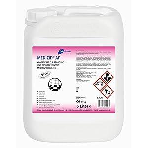 10 Liter Medizid AF – Konzentrat – 2 x 5 Liter Kanister – Flächendesinfektionsmittel – aldehydfrei