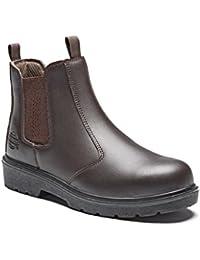 Dickies Men's Dealer S1-P Safety Boots - EN safety certified