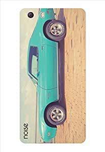 Noise Vintage Blue Car Printed Cover for Micromax Canvas Knight 2 E471