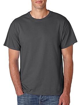 Hidensi Jerzees de cama de algodón T-Shirt 363